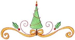 O Christmas Tree 10 - 5x7 | Christmas | Machine Embroidery Designs | SWAKembroidery.com Bunnycup Embroidery