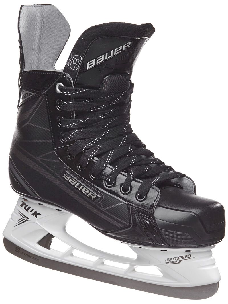 Huge Fan Of The All Black Look Except For The Laces Hockey Gear Hockey Ice Hockey