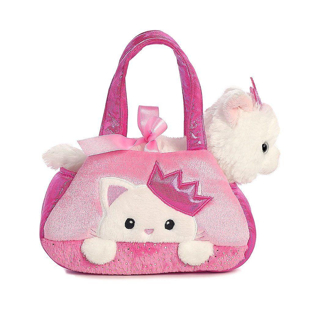 Aurora Fancy Pals 7 Peek A Boo Princess Kitty Princess Kitty Stuffed Animal Cat Little Girl Toys [ 1024 x 1024 Pixel ]