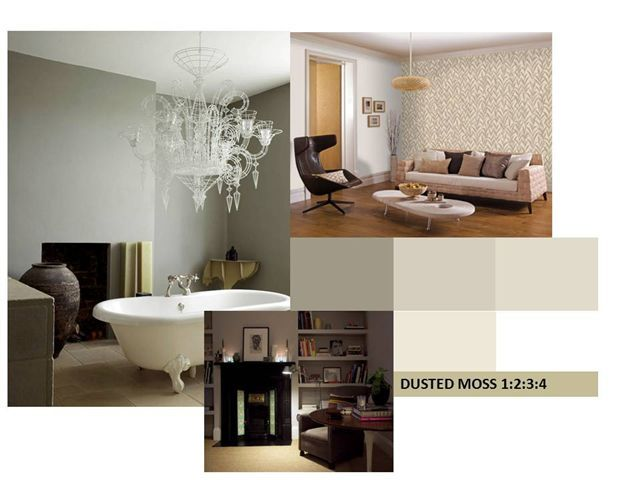 Dulux dusted moss click through for the best gray paints for interiors on modern country style