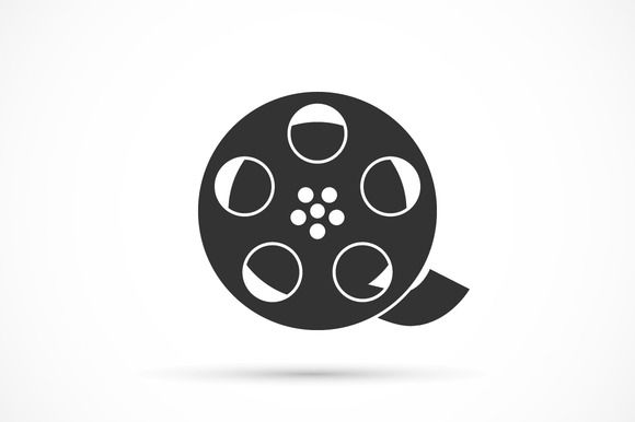 Film Reel Free Vector Icons Designed By Kiranshastry Icon Vector Icon Design Vector Icons