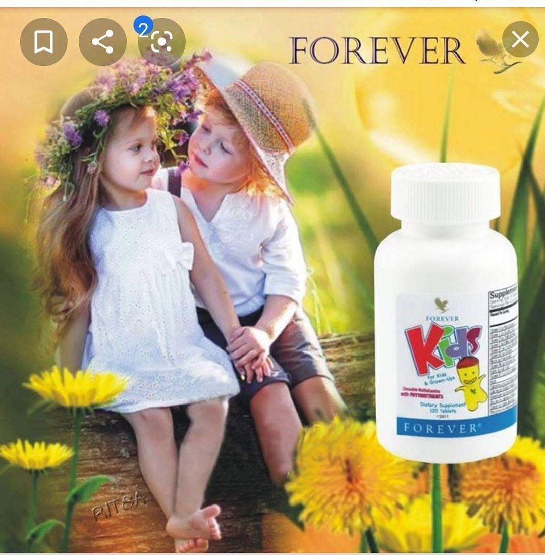 مجموعه تسمين الاطفال مع مجموعة زيادة وزن الاطفال لا حاجة للخوف على صحة اطفالك الا ن صحة ا Vitamins For Kids Forever Living Products Kids Multivitamin