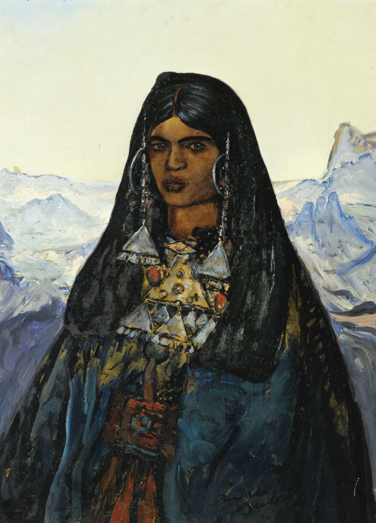Tingelouz femme noble du Hoggar - Paul-Elie Dubois 1944