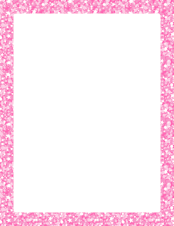 Pink Glitter Border | pink | Pinterest | Pink glitter ...