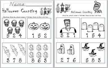 46++ Halloween counting worksheets For Free