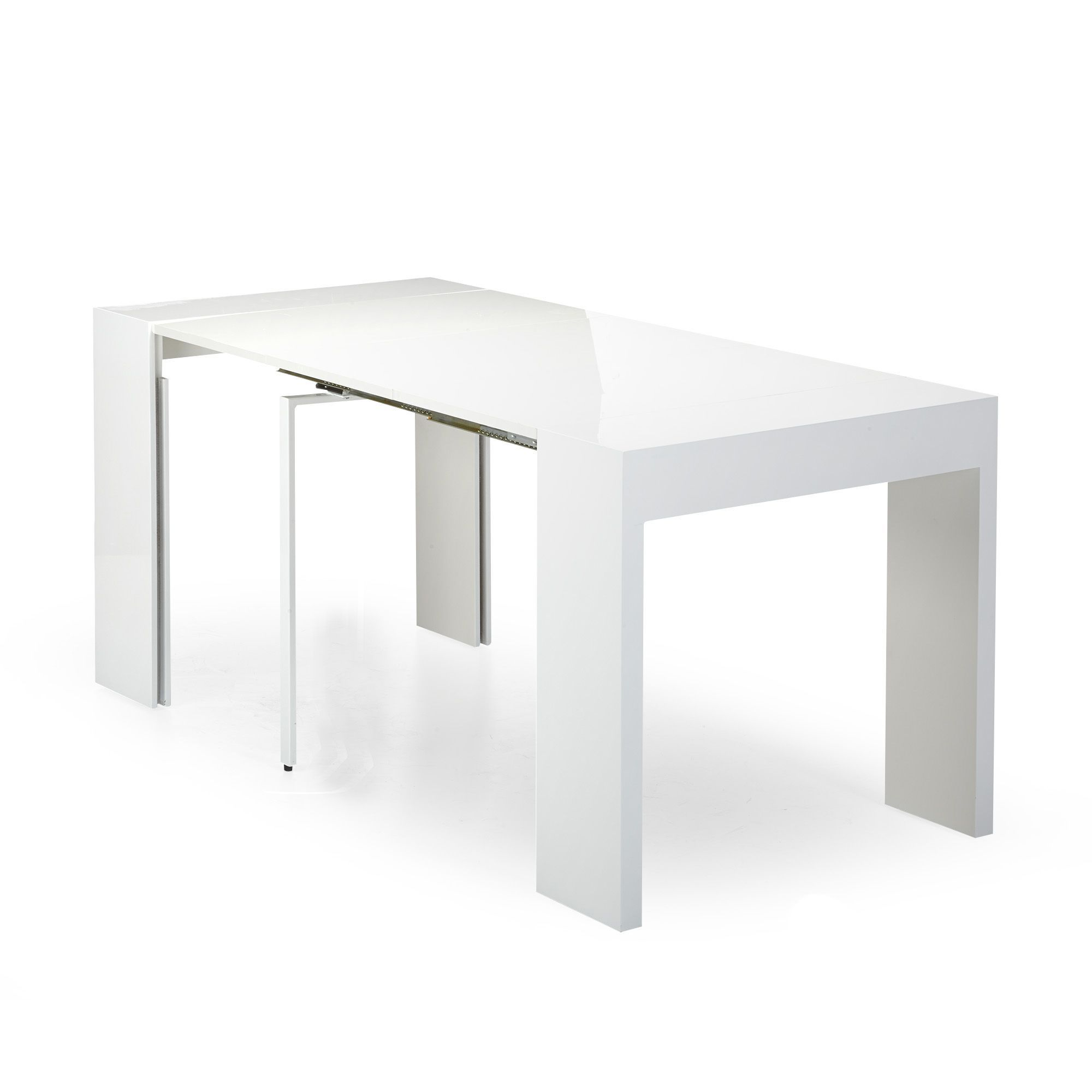 Table console blanche L37-197cm - Speed - Consoles-Consoles, Tables ...
