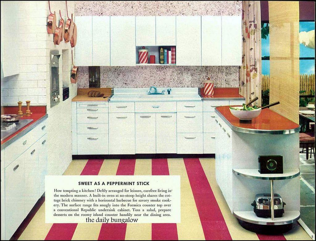 1956 Praise Winning Kitchens Retro Kitchen Kitchen Vintage Kitchen