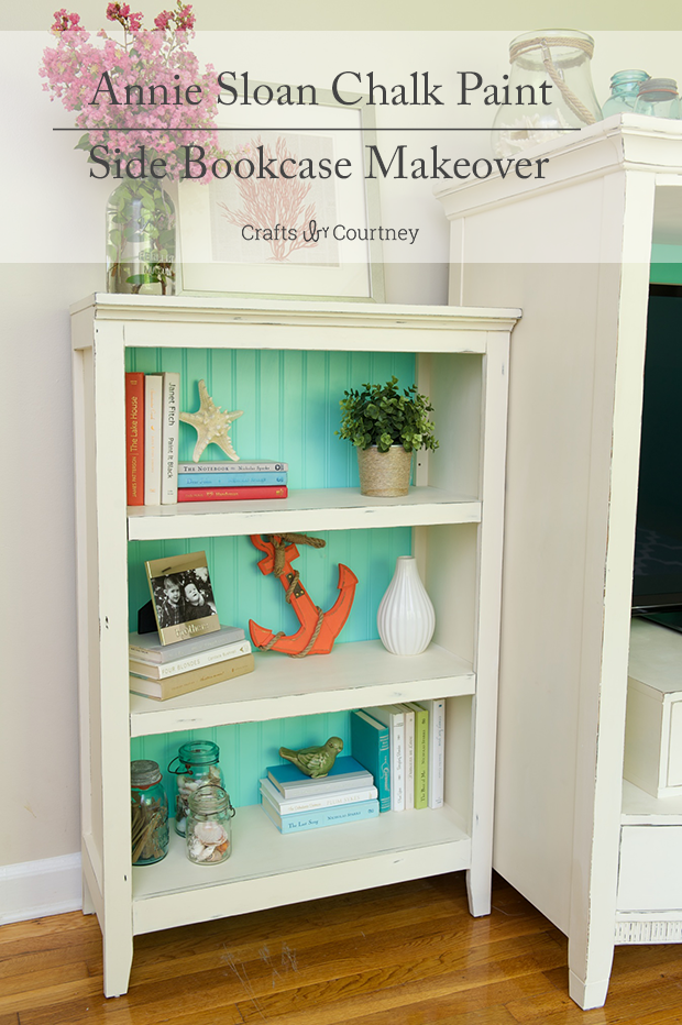 Annie Sloan Painted Bookcase With Coastal And Nautical Accessories Girls Bedroom Beach