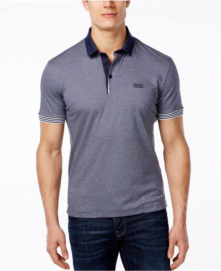 3cf9e1350 Hugo boss | Polo Shirts Style | Polo shirt outfits, Polo shirt style ...