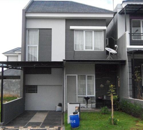 Inspirasi Terkini 40+ Desain Rumah Minimalis 2 Lantai Type ...