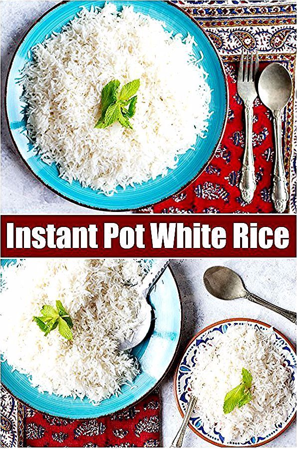 Instant Pot White Rice Recipe • Unicorns in the Kitchen #whitericerecipes Instant pot white rice comes out perfectly every time. Learn how to make white rice in instant pot, the cooking time is only 5 minutes. #instantpot #whiterice #cookrice #howto #ricerecipe #basmatirecipe #whitericerecipes Instant Pot White Rice Recipe • Unicorns in the Kitchen #whitericerecipes Instant pot white rice comes out perfectly every time. Learn how to make white rice in instant pot, the cooking time is only #whitericerecipes