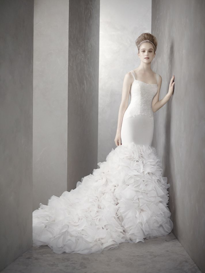 Best White by Vera Wang wedding dress style inspired by Kim Kardashian