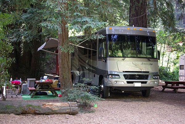 Riverside Campground And Cabins One Of The Best Big Sur Recreational Vehicles Campground Big Sur
