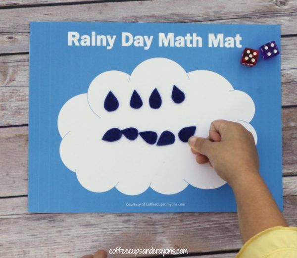 Free Printable Math Busy Bag for Kids | Busy bags, Free printable ...
