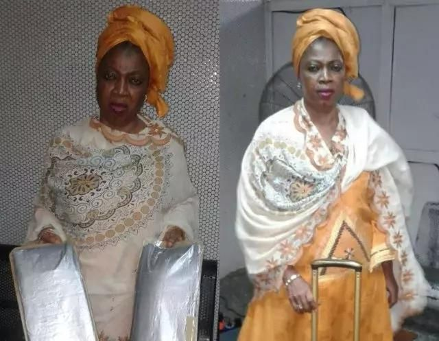57 year old woman arrested with cocaine at Lagos Airport