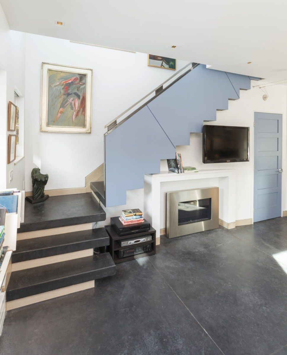 The Diagon Alley Passive House By Workshopl Staircase In Living