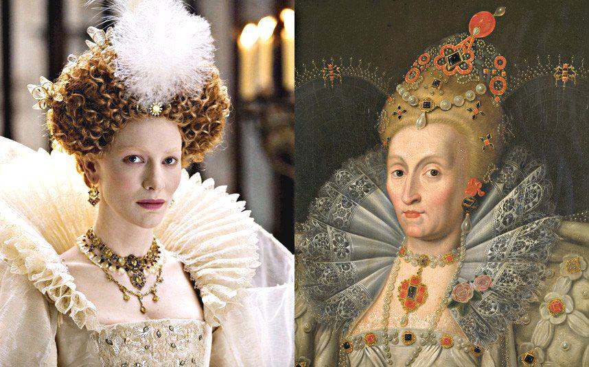 Pin by urara2012 on Jewelry in Art   Elizabeth the golden ...