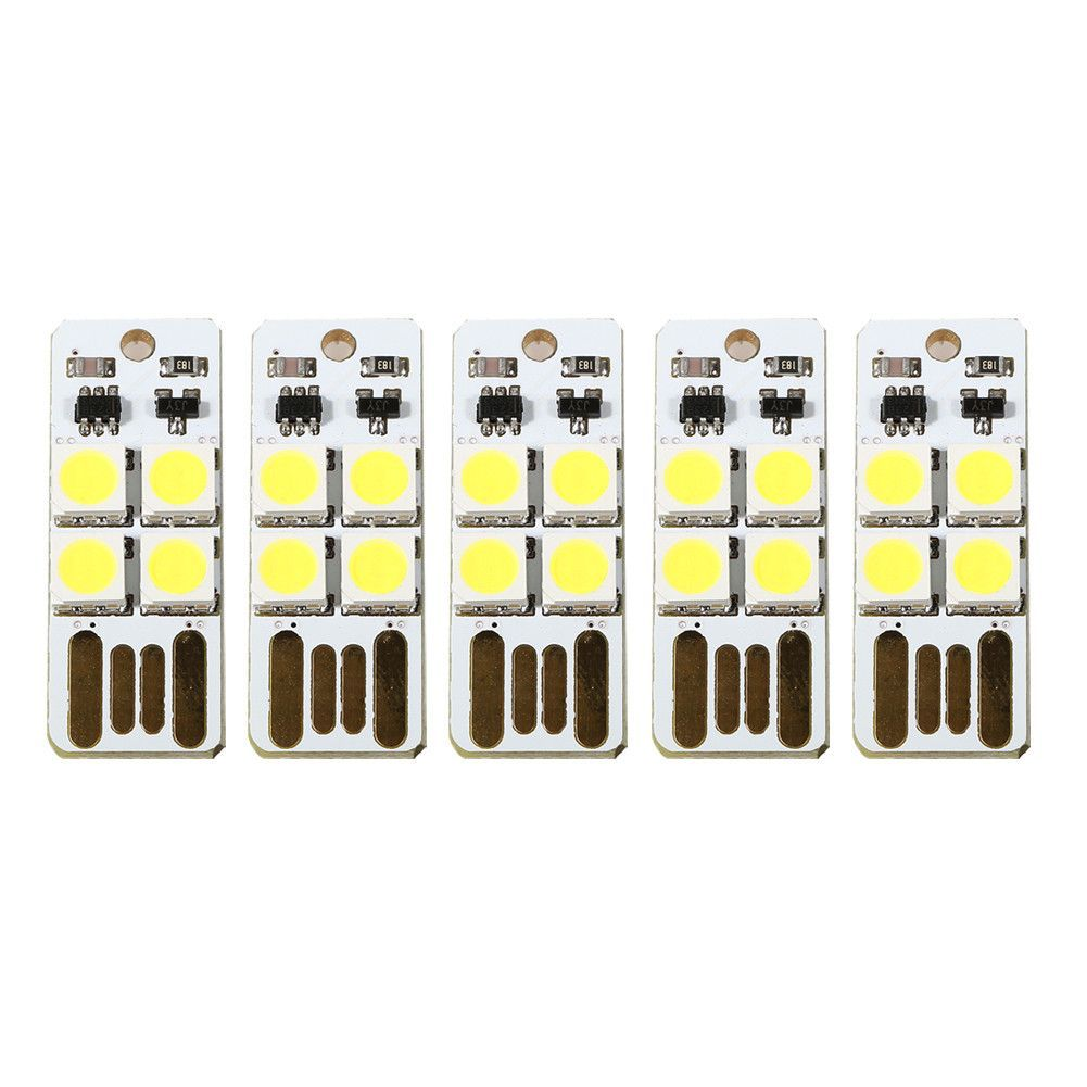 5pcs/lot LED lamp Light Touch mobile power camping l