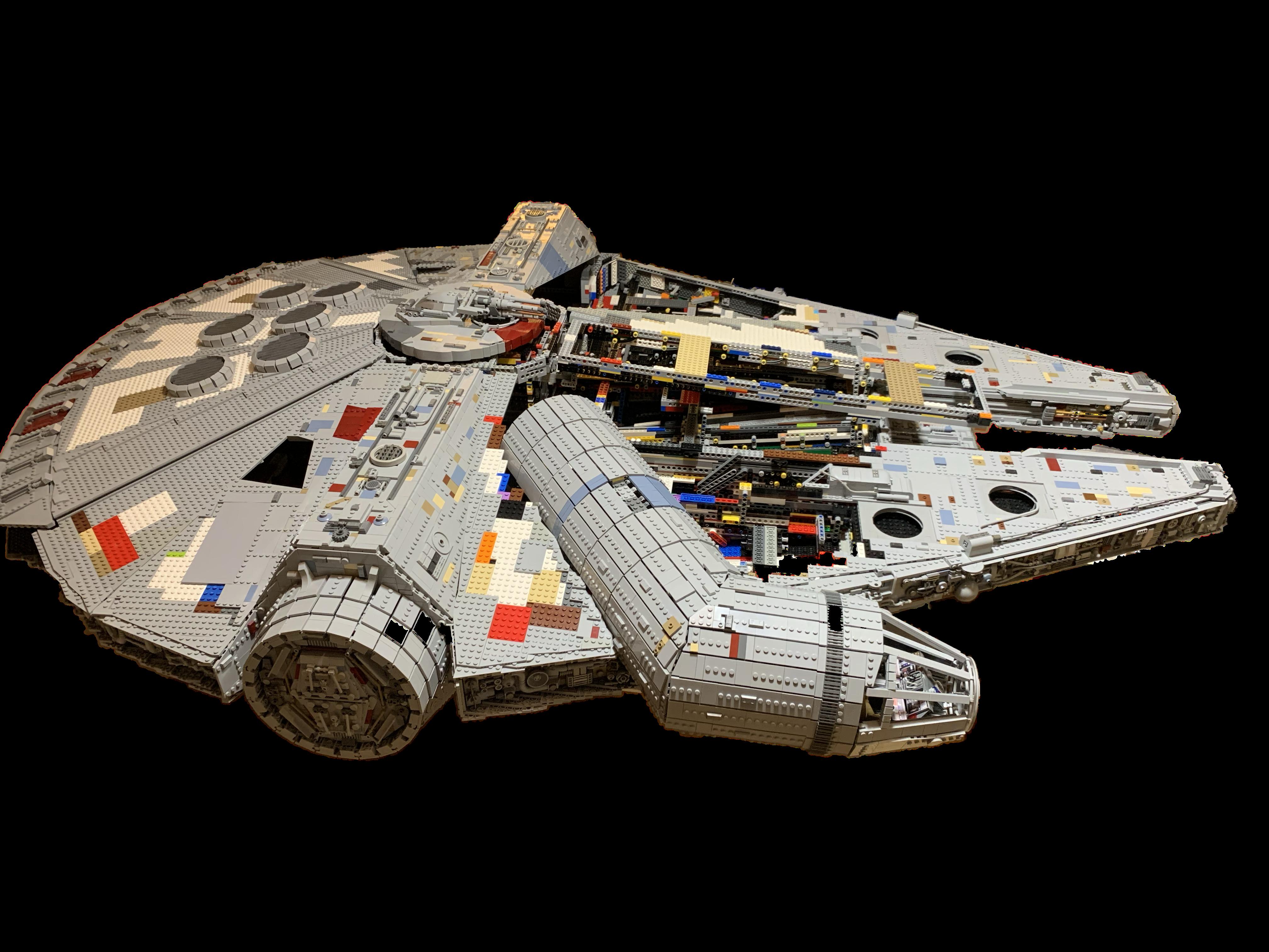 Wip Lego Moc Millennium Falcon