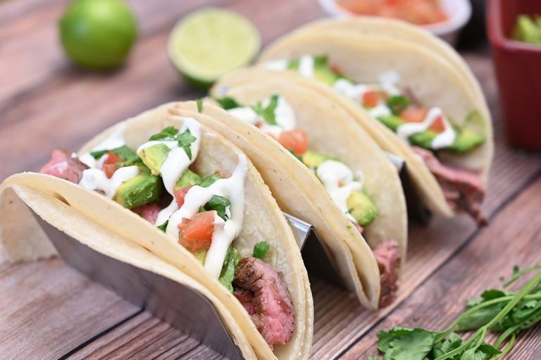 Grilled Flank Steak Tacos with Avocado and Cilantro Lime Crema #flanksteaktacos Tender, juicy Grilled Flank Steak Tacos with Avocado and Cilantro Lime Crema is easy to prepare during a weeknight or on weekends! This grilled beef recipe with a Mexican twist is wonderful for beginners and experts alike. #flanksteaktacos Grilled Flank Steak Tacos with Avocado and Cilantro Lime Crema #flanksteaktacos Tender, juicy Grilled Flank Steak Tacos with Avocado and Cilantro Lime Crema is easy to prepare duri #recipesforflanksteak