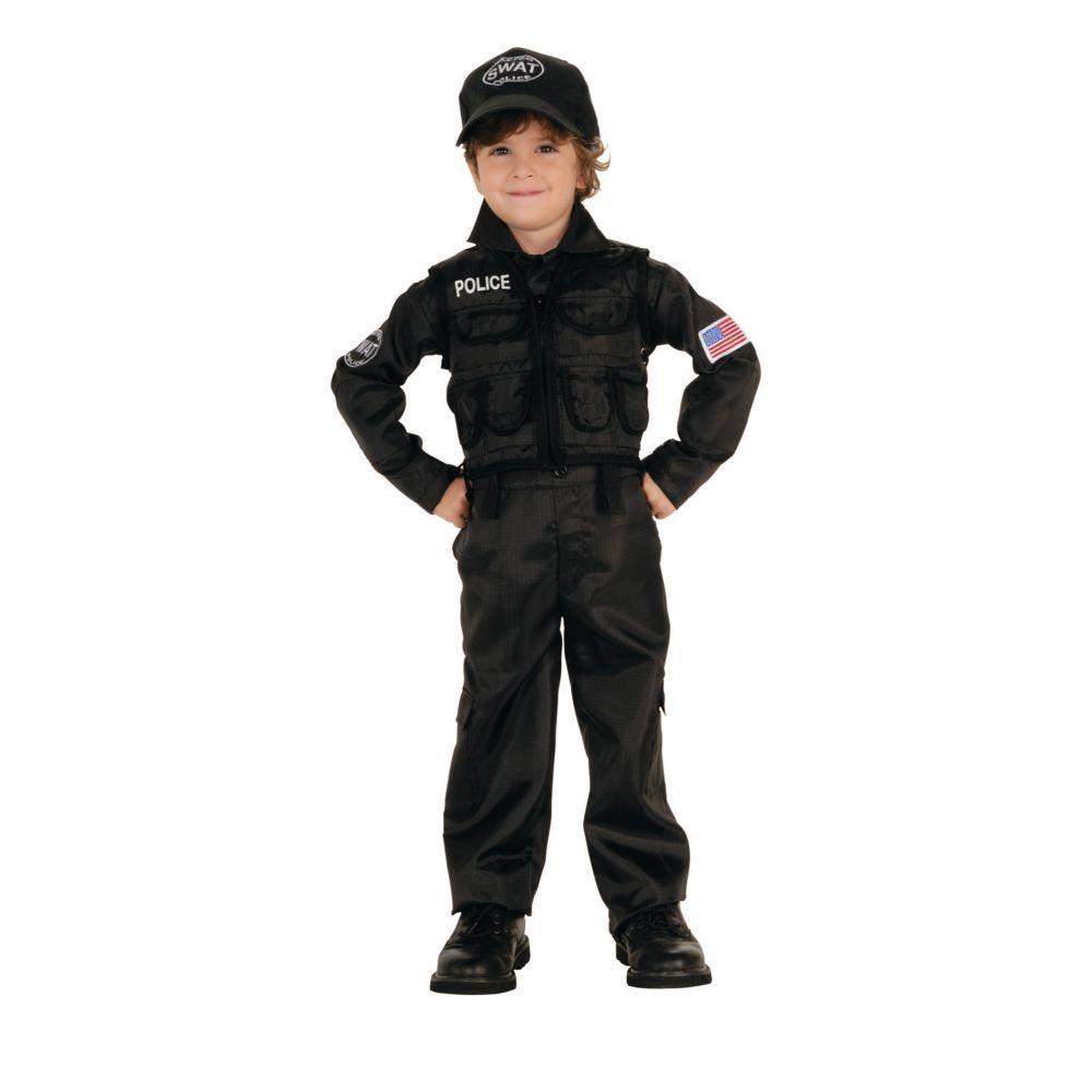 boys policeman swat halloween costume for toddlers boy halloween
