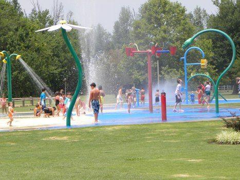 Collierville Spray Park Vortex Splashpad Splash Pad