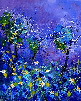 Blue flowers 567160 by Pol Ledent