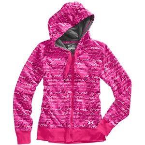 Underarmour Power in Pink zipup - Scheels (large) $65
