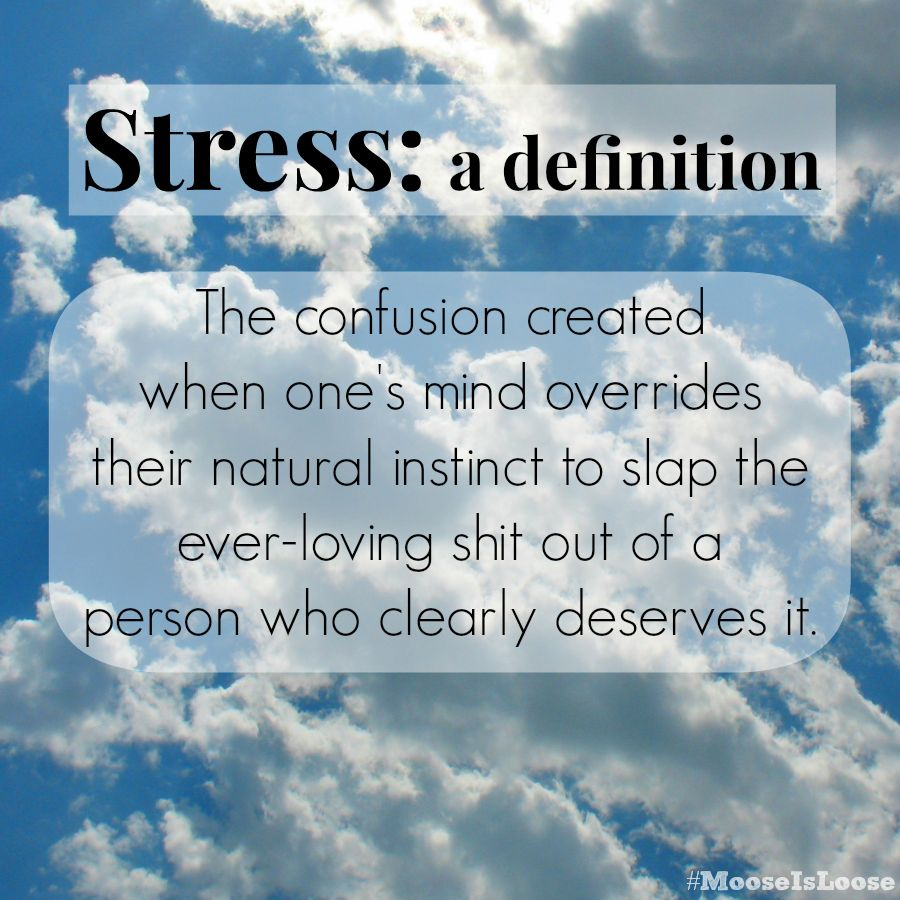 the definition of stress - rt if you agree | sayings | pinterest