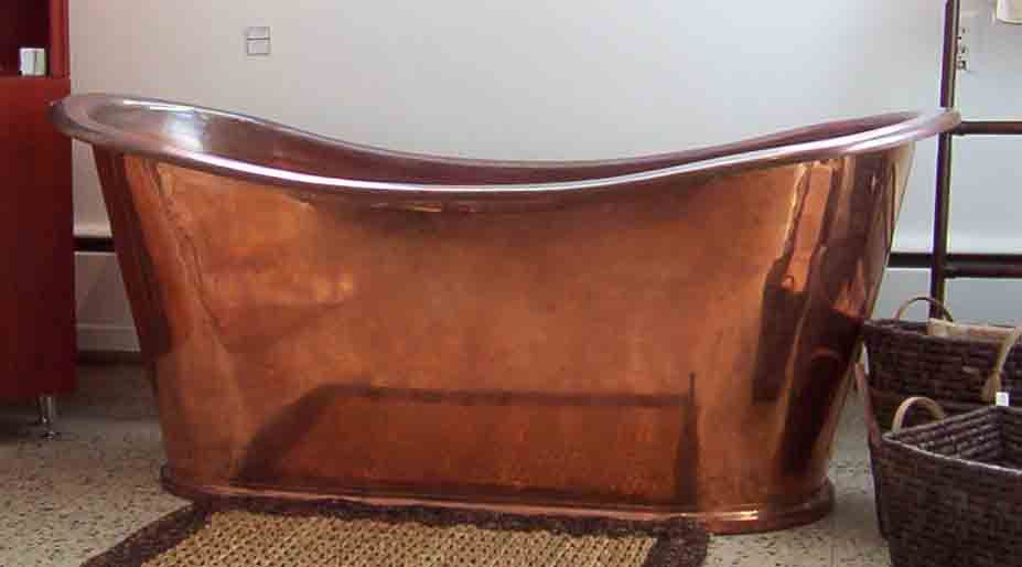 Mickey S Bathtub Copper Tub Copper Bathtubs Copper Soaking Tub