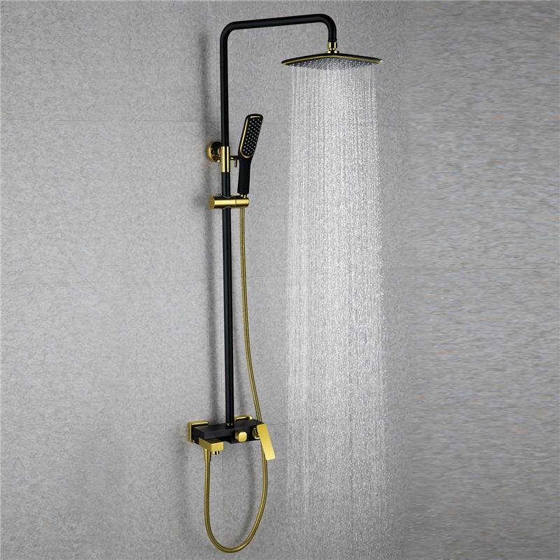 european modern copper shower sets hot