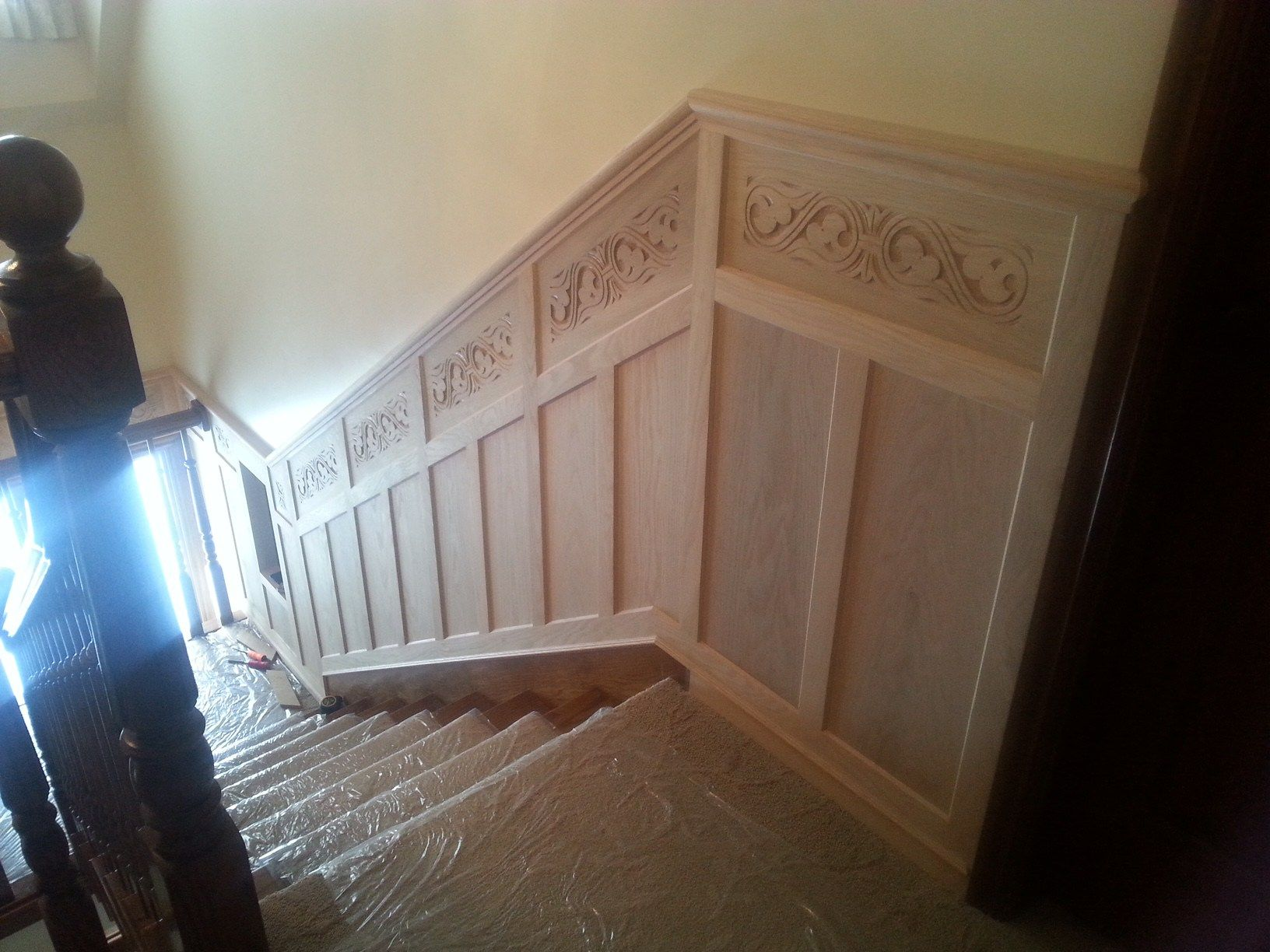 Wall Treatments And Columns Dream Woods Custom Finish Carpentry