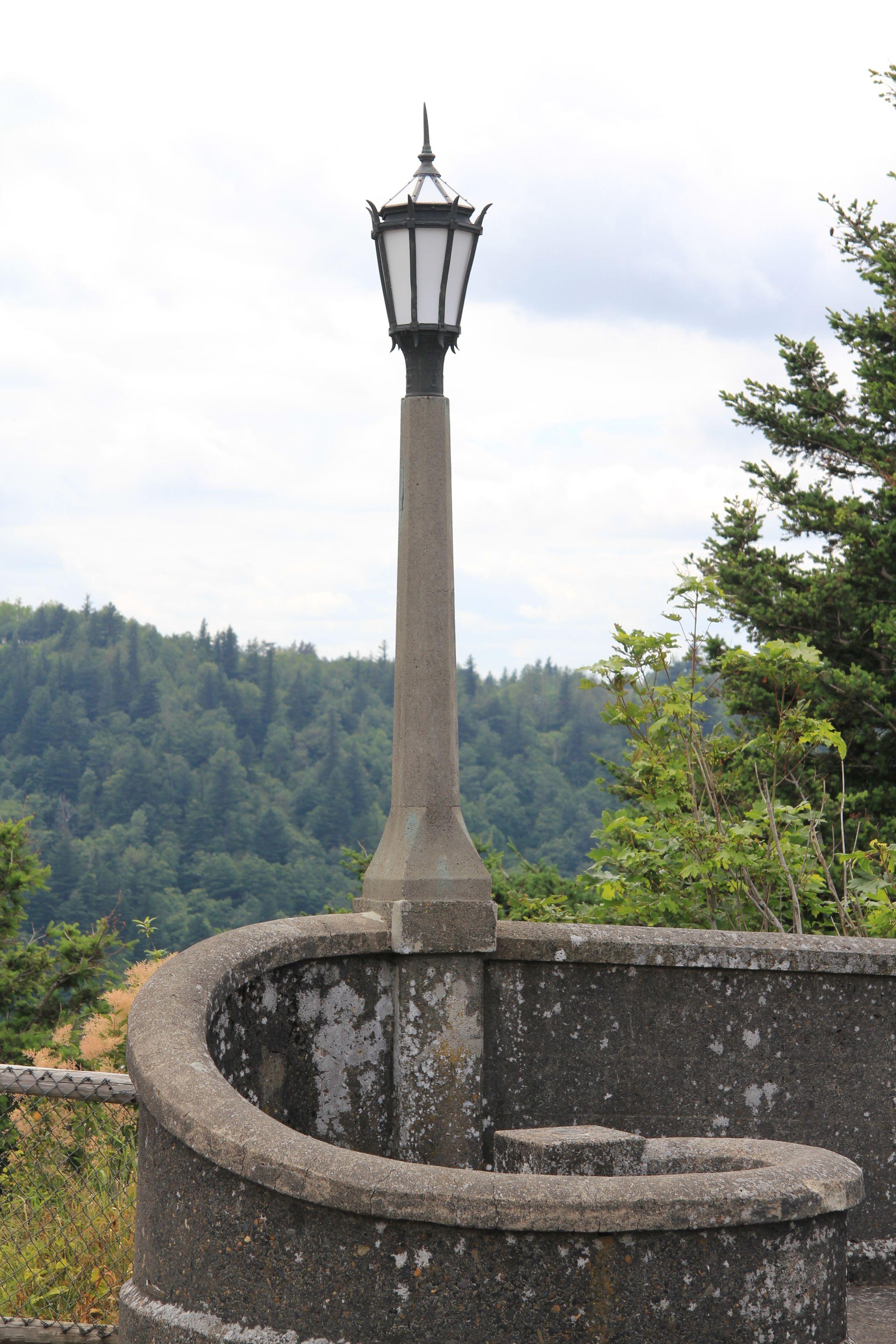 Lamp post in crown point oregon lamp post lantern post