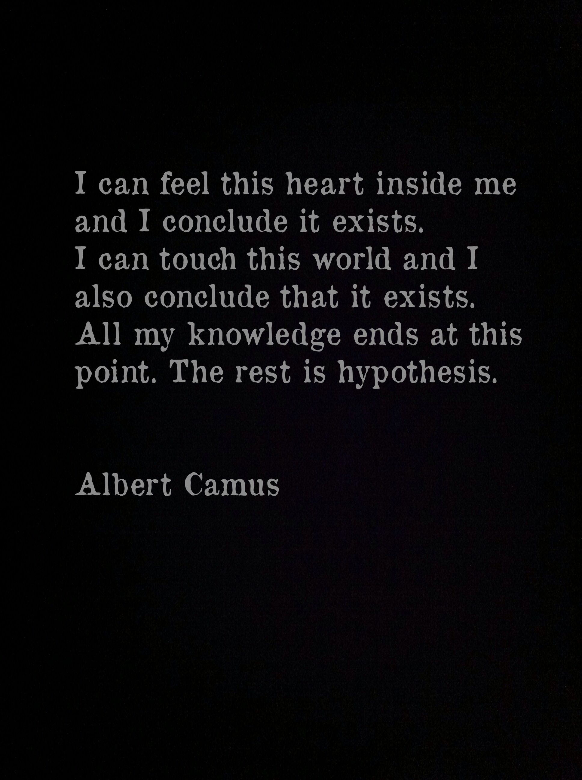 Albert Camus The Myth Of Sisyphus Love Thy Neighbor  Everything  Albert Camus The Myth Of Sisyphus Love Thy Neighbor  Everything Else Is  Commentary