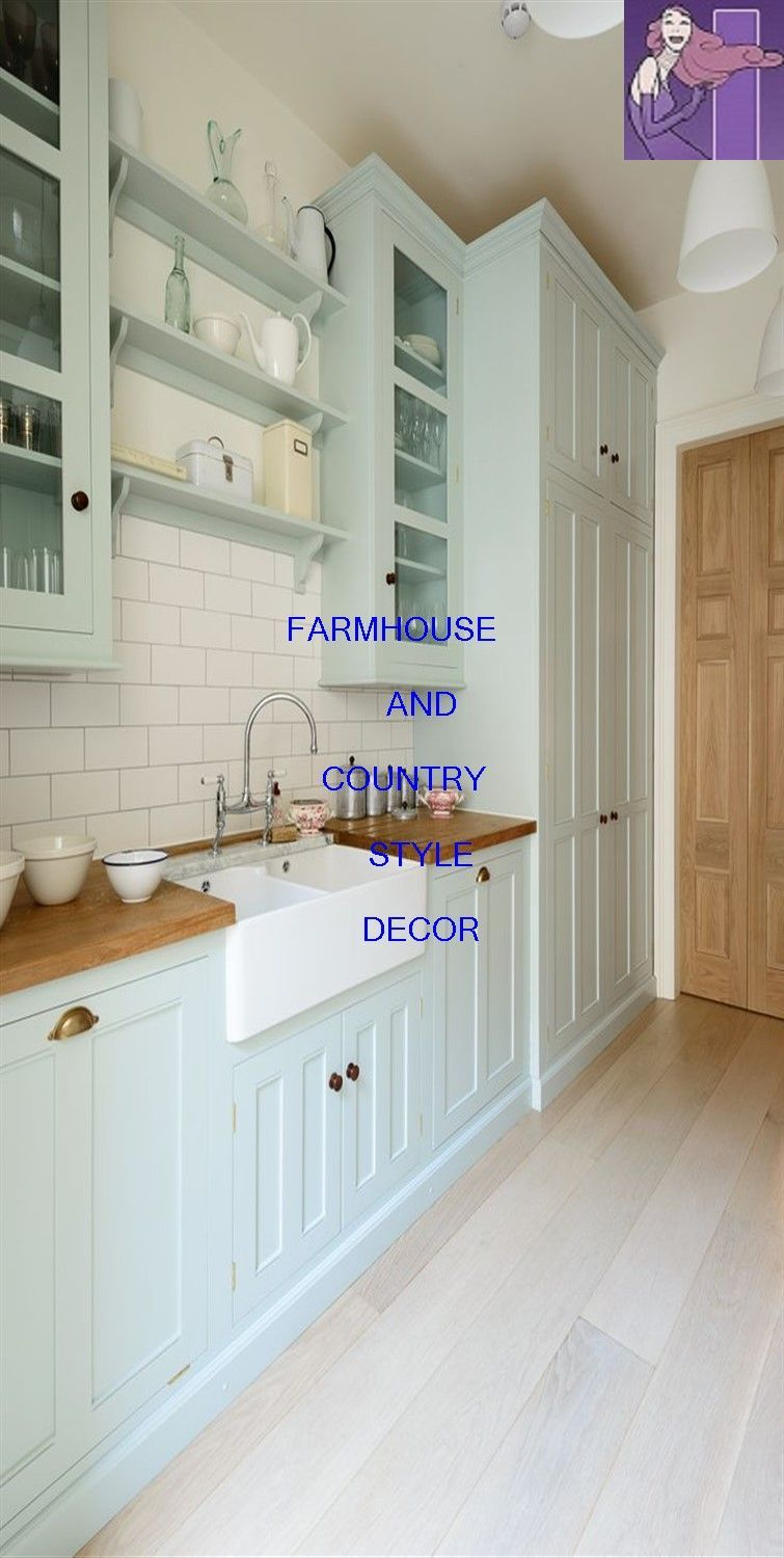 FARMHOUSE KITCHEN Farmhouse chic is a style of home