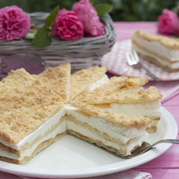 Deutsche Kuchen Rezepte: Friesentorte Mit Zitronencreme