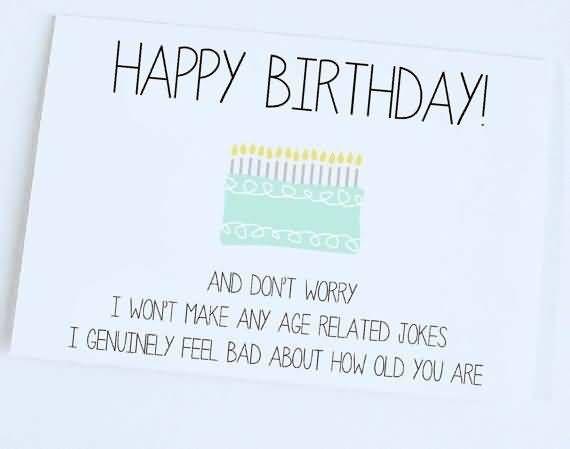 Funny Jokes Nice E Card Happy Birthday
