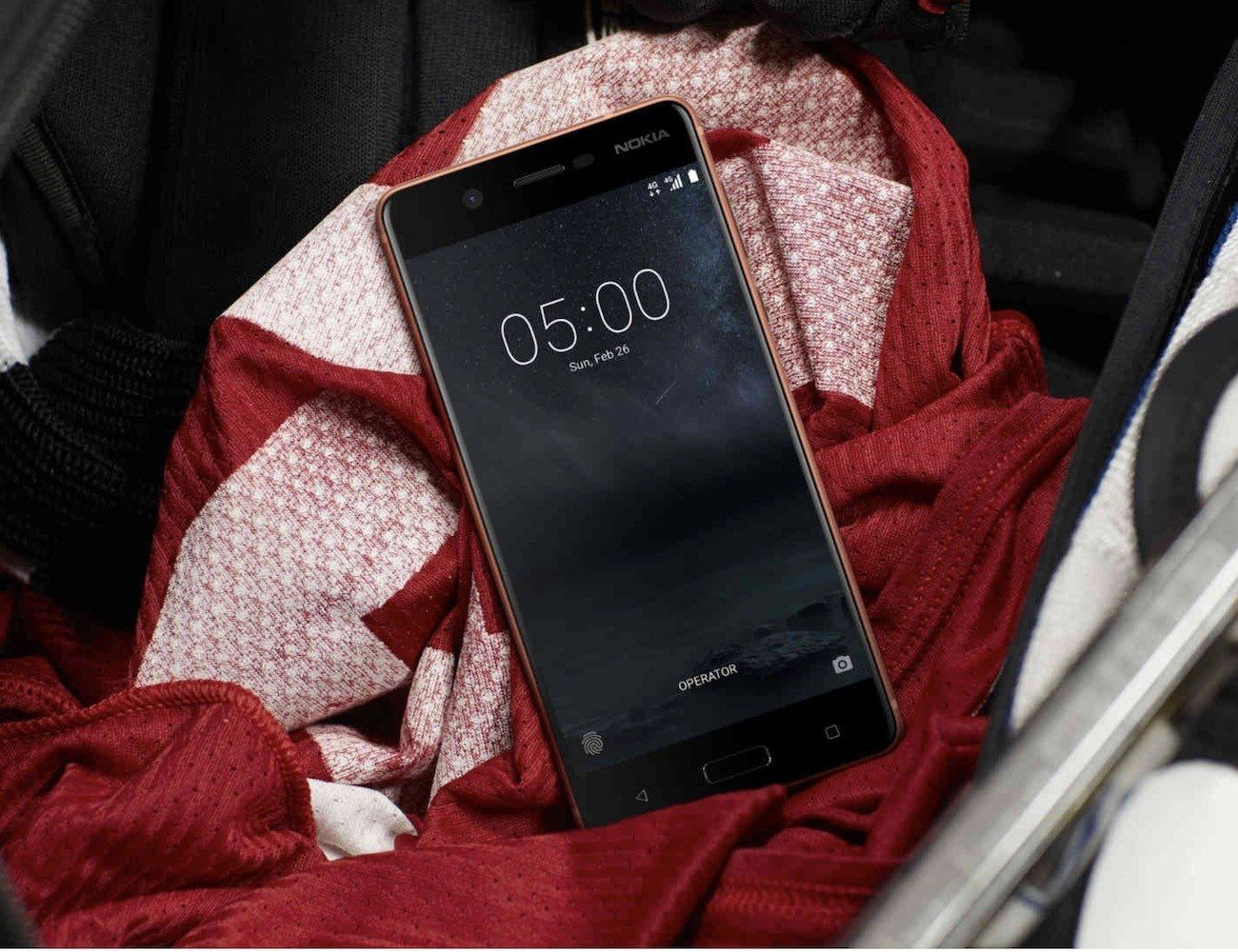 Nokia 5 sleek android smartphone with images
