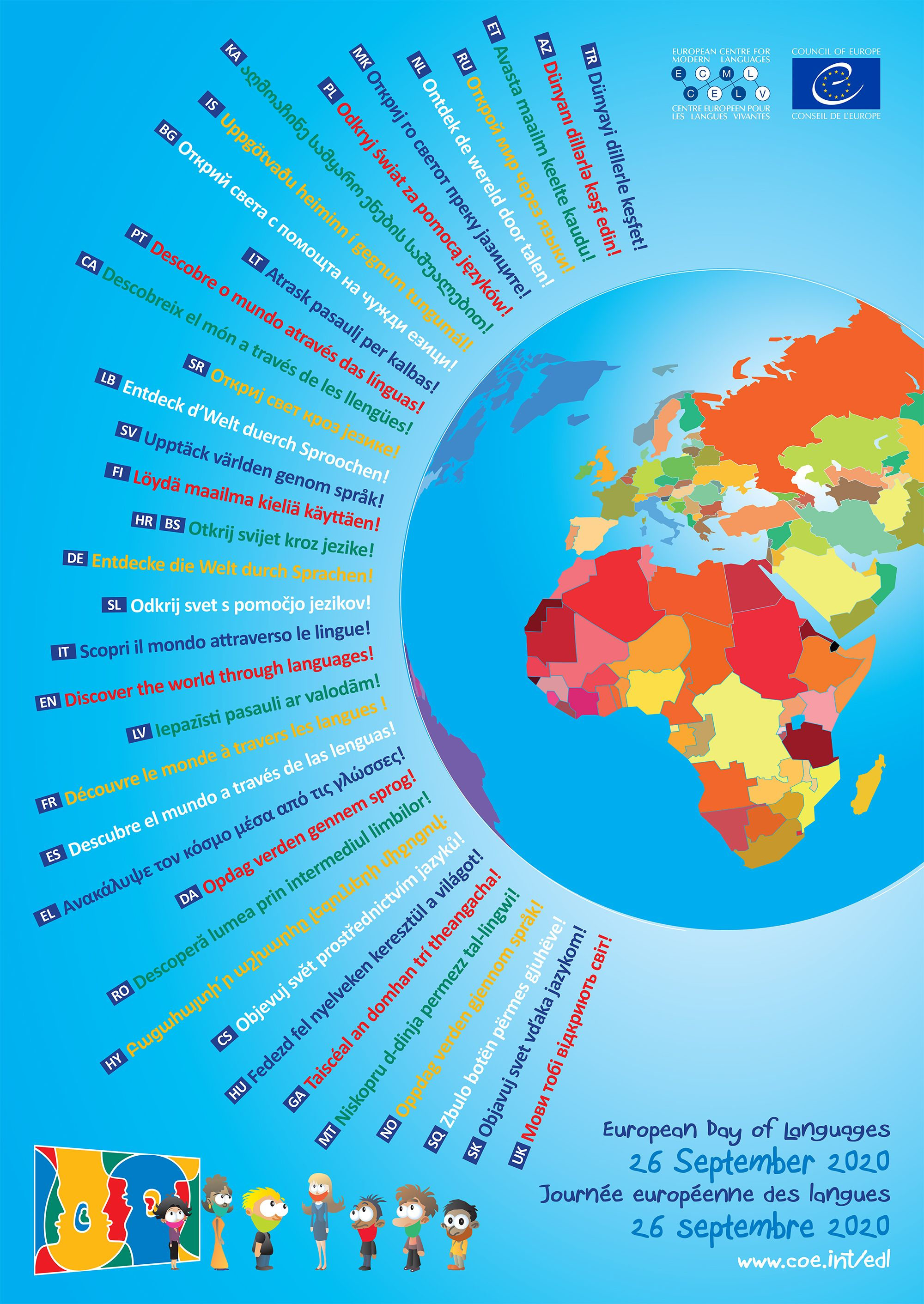 26 Septembre 2020 Journee Europeenne Des Langues Journee Europeenne Des Langues Jeu Linguistique Etablissement Scolaire