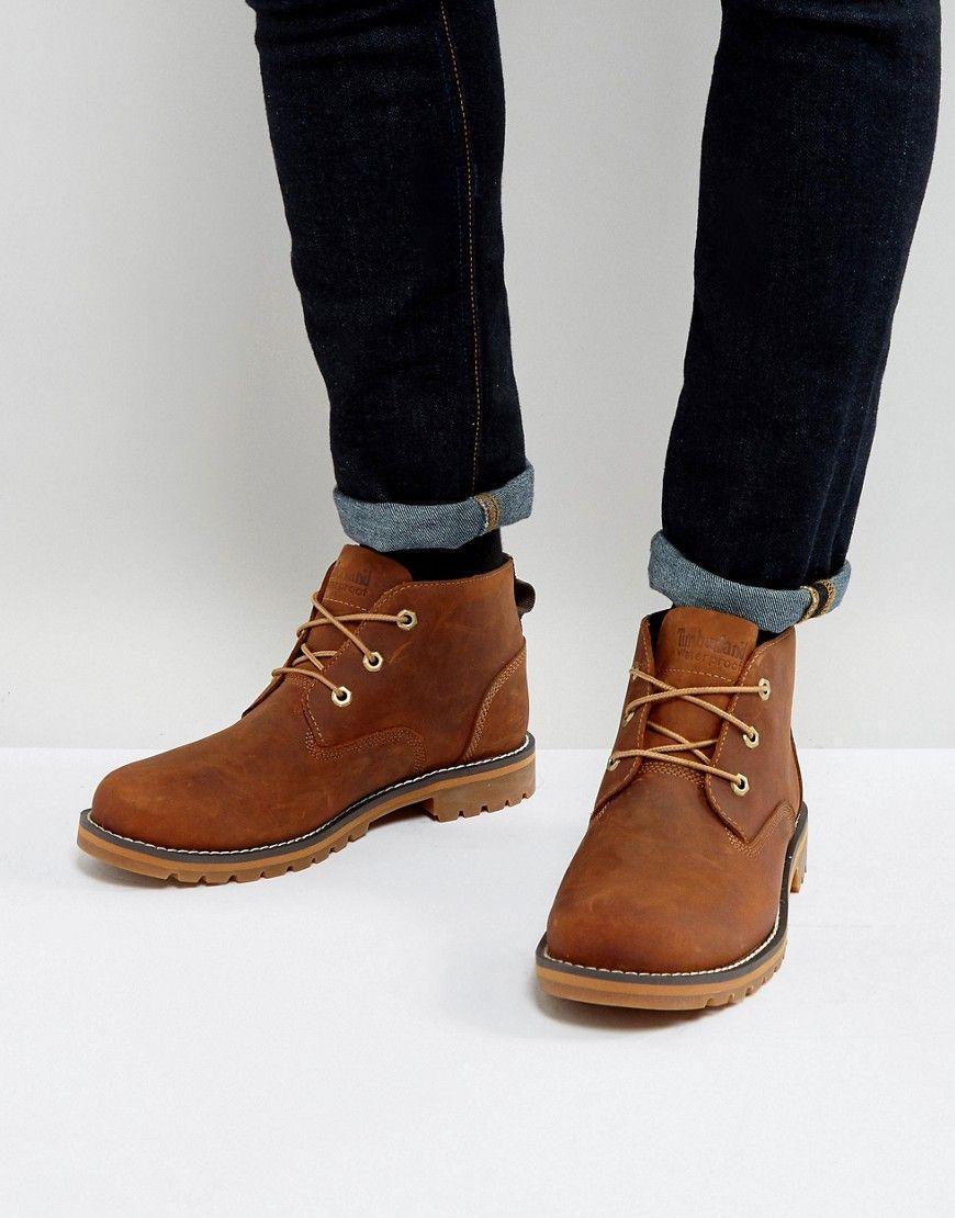 TIMBERLAND LARCHMONT CHUKKA BOOTS - BROWN.  timberland  shoes ... bdadf6e6210