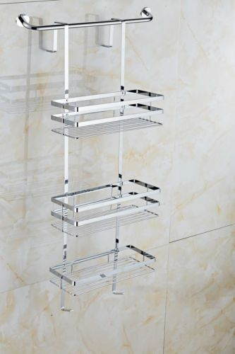 Shower Caddy Shelves Tidy Storage Hanging Bathroom Over Door Stainless Steel U View More On The Link Http Www Zepp With Images Elegant Bathroom Shower Caddy Storage
