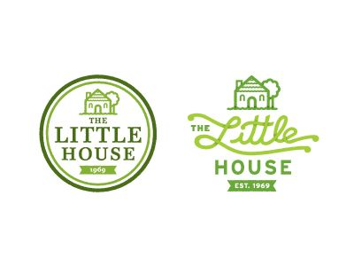The lil  house also best logos images logo branding typography typographic rh pinterest