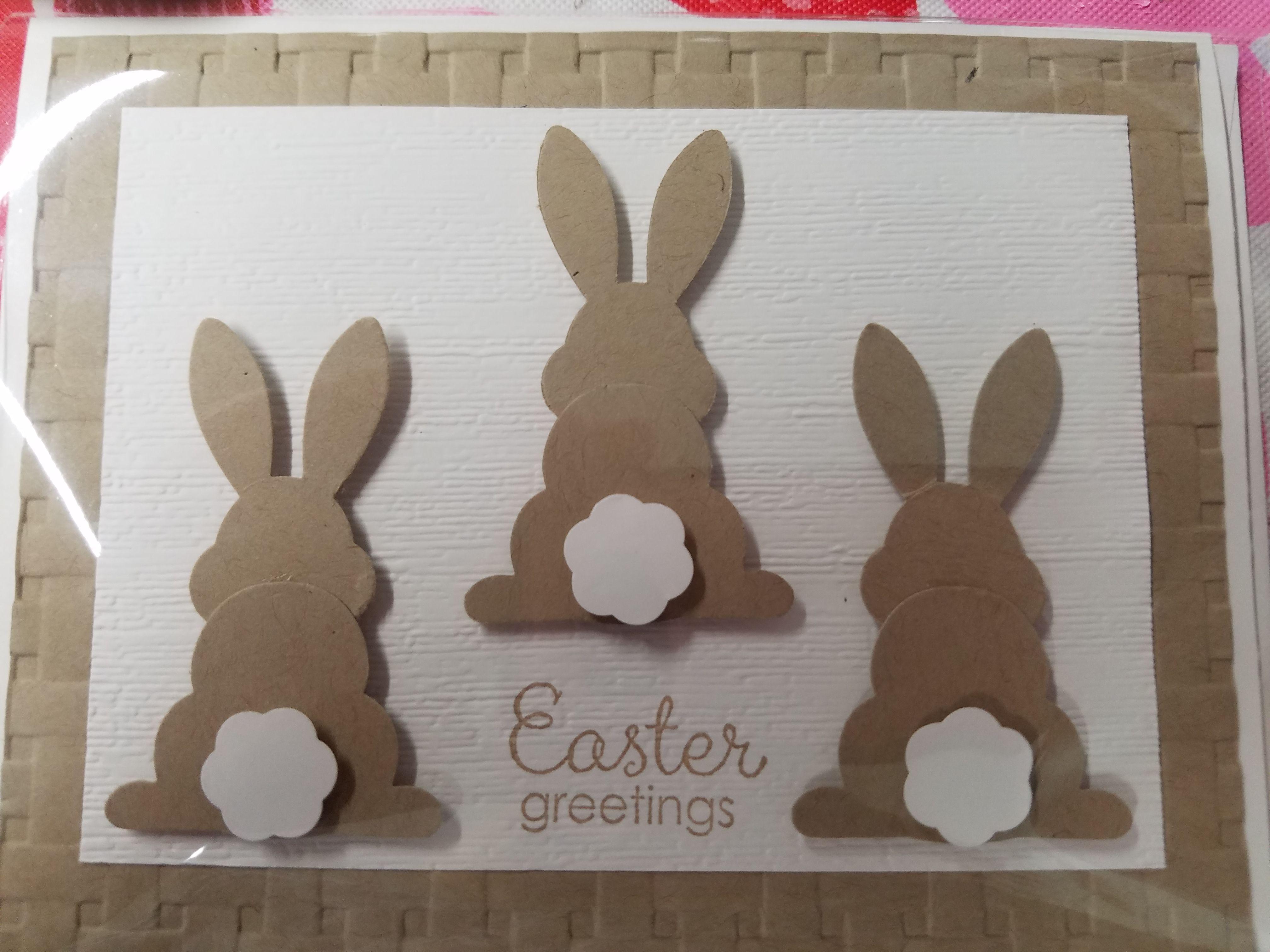 Кролики открытки своими руками