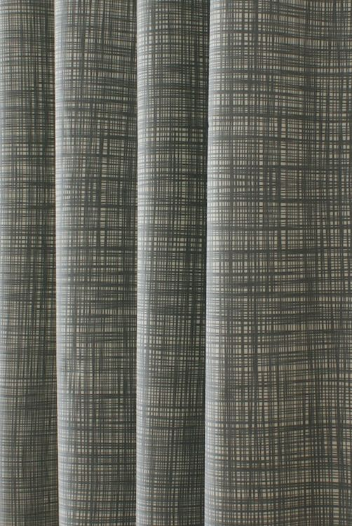 Scribble Cool Grey Curtain Fabric | New Home - walls in 2019 ...