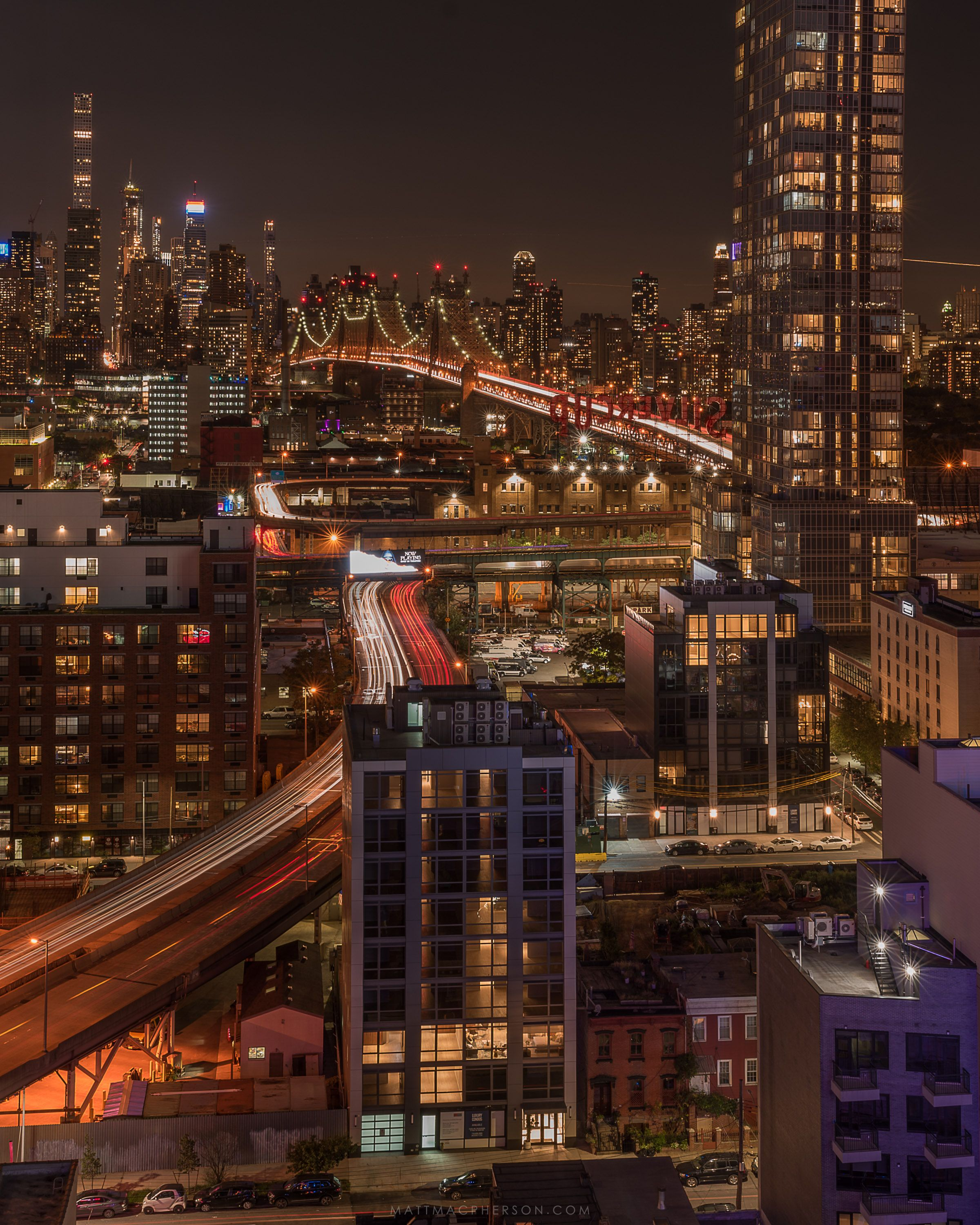 Night Lights In New York From A Rooftop In Queens Oc 3000x2400 New York Night Nyc Photography Manhattan City Aesthetic