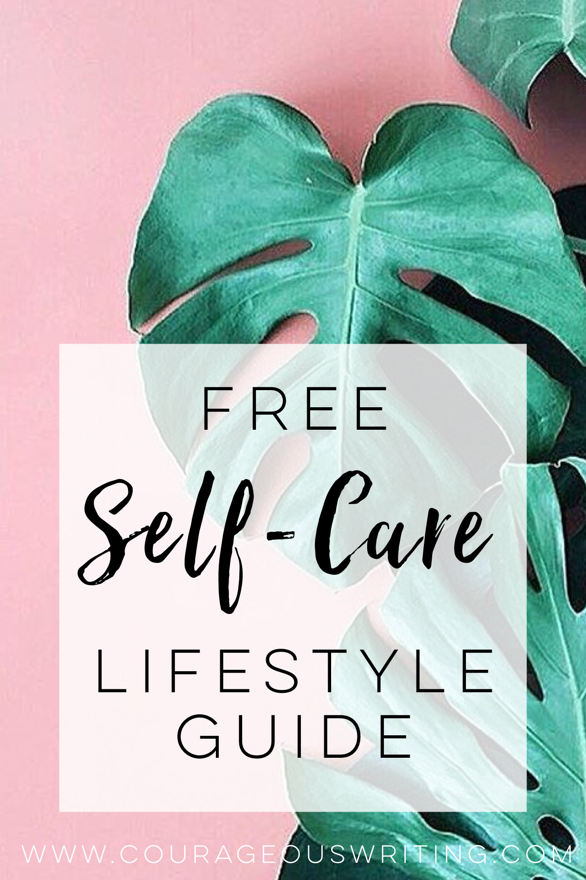 Free Self-Care Lifestyle Guide | Worksheets, Activities and Positive ...