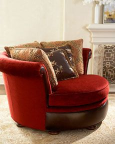 """How can you not want something called a """"cuddle chair""""?"""