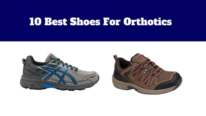10 Best Shoes For Orthotics | Nice