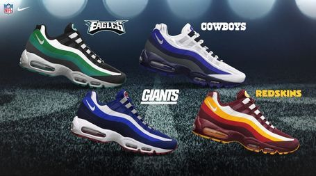 POLL: What's Your Favorite Style Of Nike's New NFL Shoes