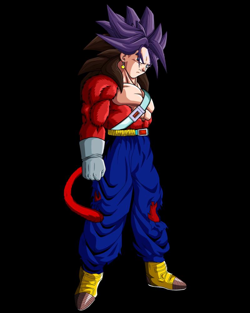 Vegetrunks Ssj4 By Groxkof On Deviantart Anime Dragon Ball Super Dragon Ball Artwork Anime Dragon Ball